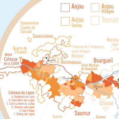 Carte Géovitis des Vignobles de France